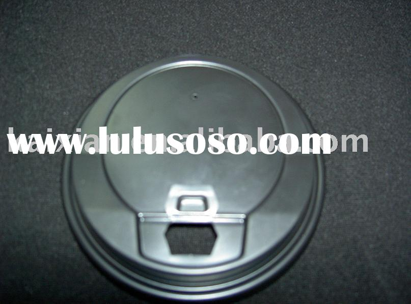 disposable plastic lid for paper cup