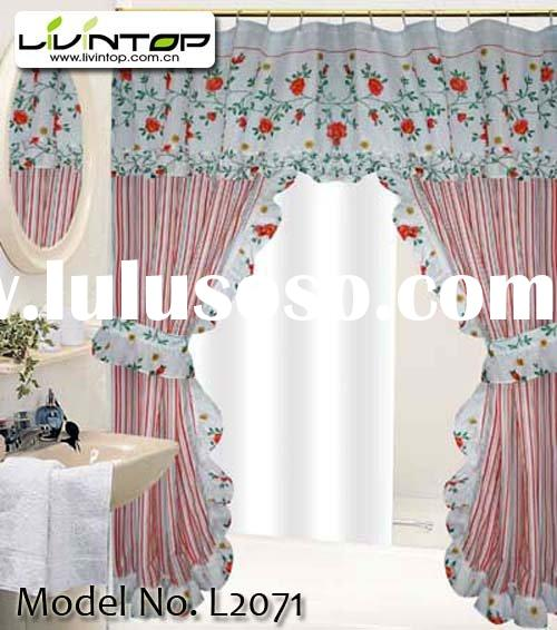 100 Polyester Double Swag Shower Curtains For Sale Price China Manufacturer Supplier 556995