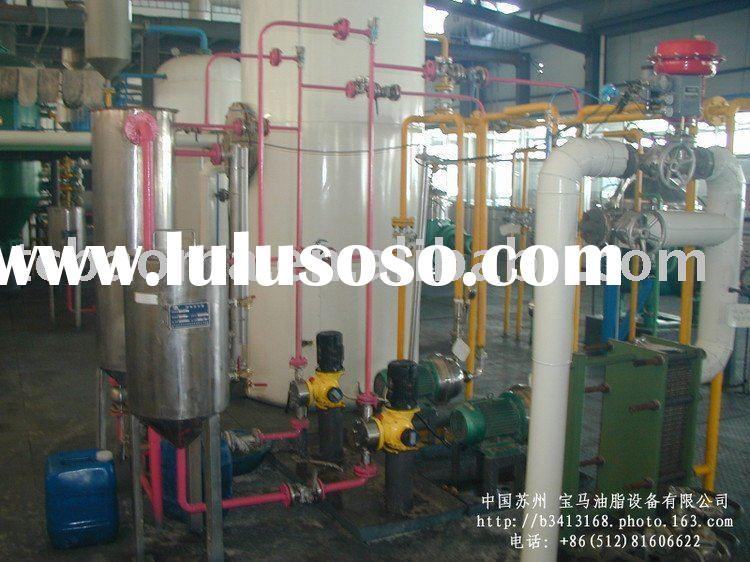 ediblr oil and fat refining plant machine and cooking oil production line