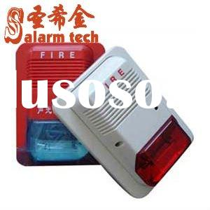 electric fire alarm outdoor siren and strobe light