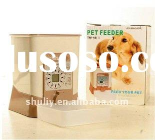 electrify and battery digital automatic pet feeder