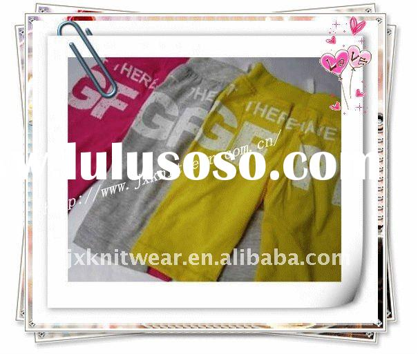 fashion casual kids hot pants girls