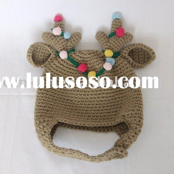 fashion knitted/crochet baby winter hat