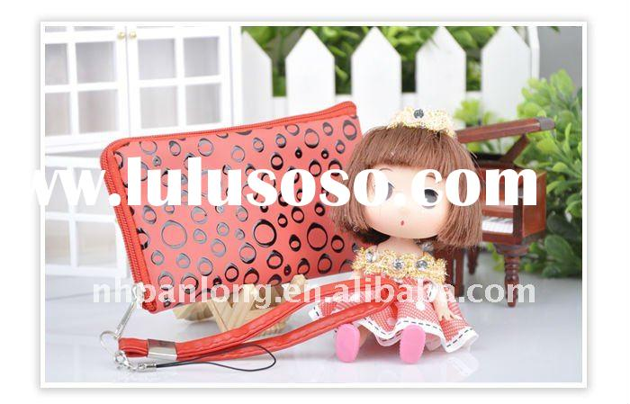 fashion plastic lovely pink doll with bags for girl with candy,beautiful pvc dolls,phone and bag pen