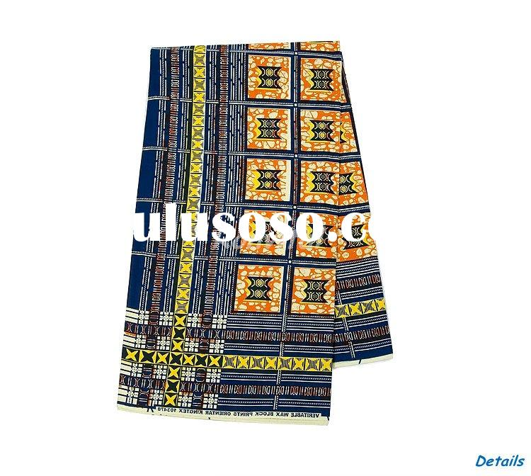 fashion veritable wax printed cotton african fabric wholesale 061c