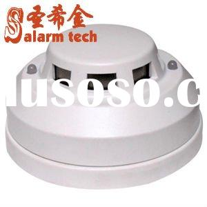 fire alarm system sensor smoke detector,use for two or four wire-power connection alarm system