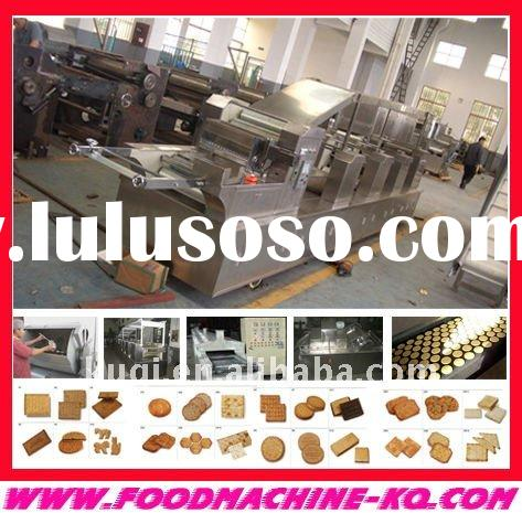 full automatic biscuit production process C