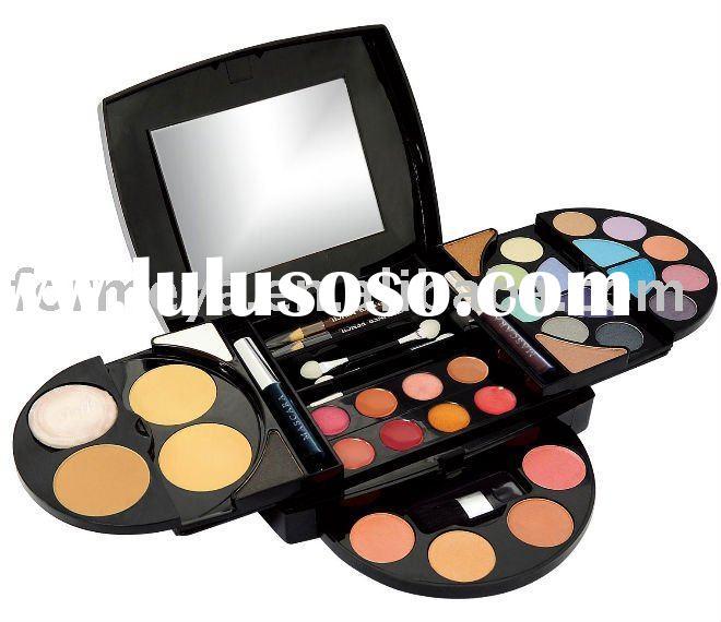 full set of professional makeup kit palette for face