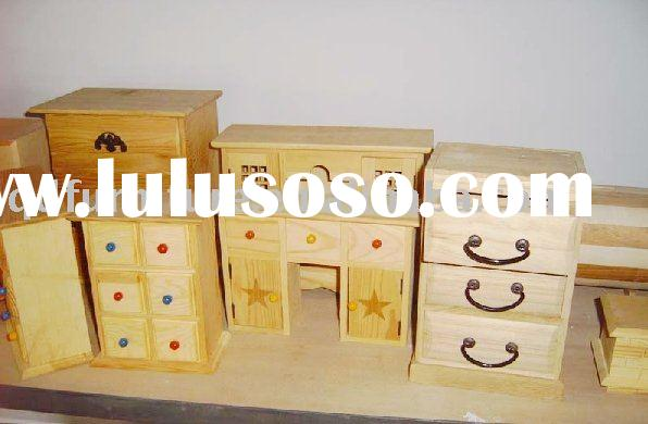 furniture model wooden toy
