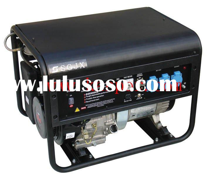 gas generator engine based, small power natural gas series