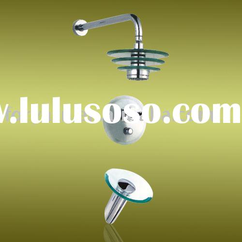 glass waterfall shower faucet,bathroom fittings ,bathtub mixer taps