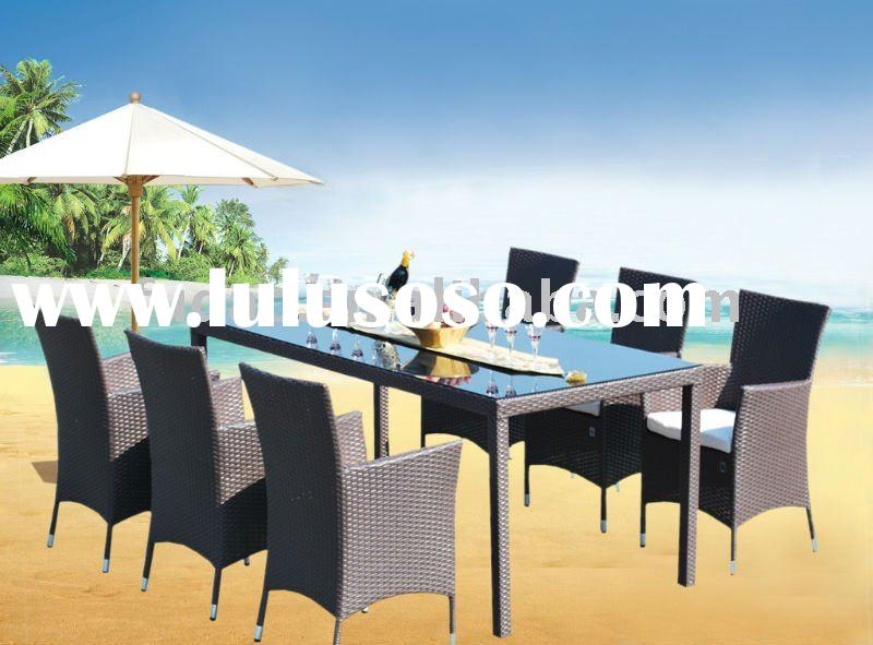 good sales outdoor garden rattan furniture set