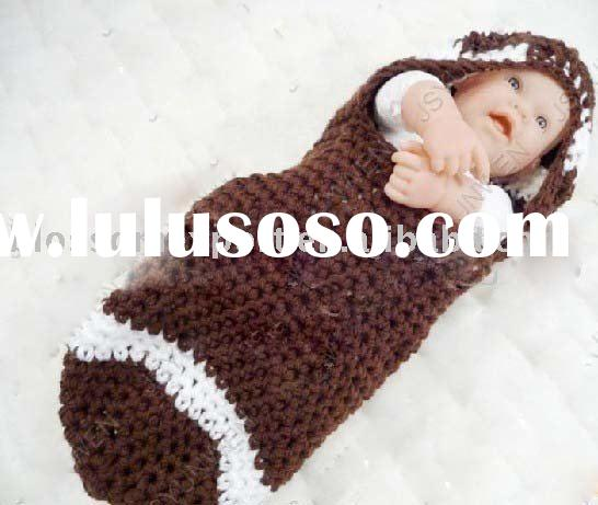hand crochet baby sleeping bag