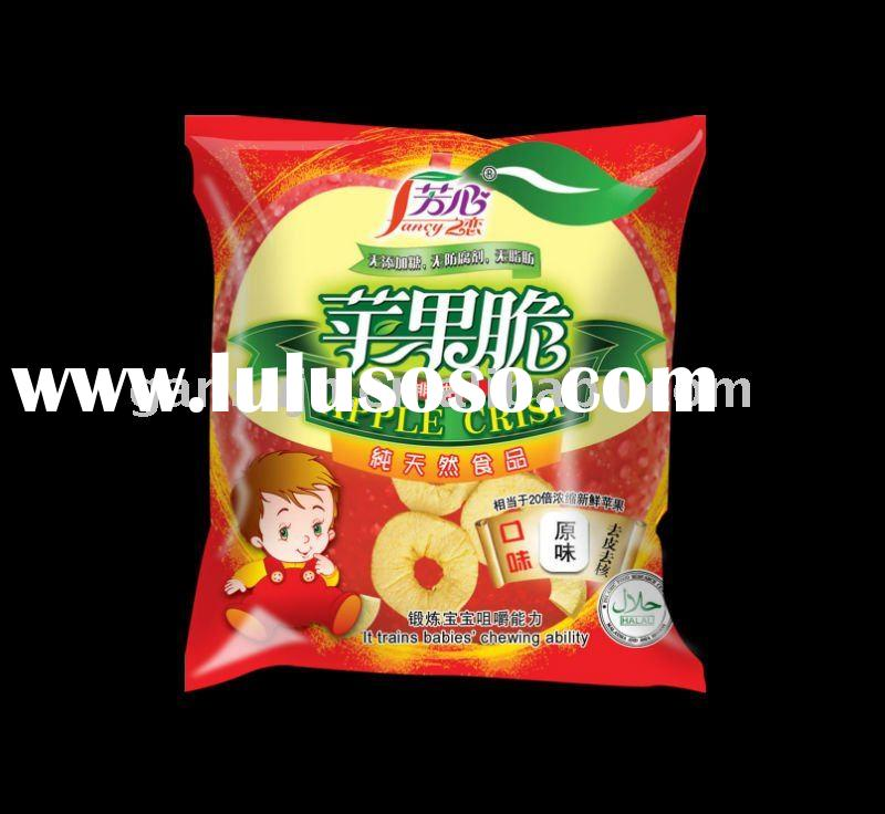 healthy Chinese snacks apple chips dried fruit