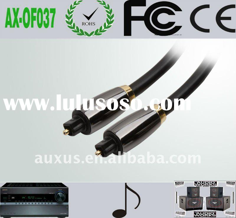 high quality audio optical cable with metal shell