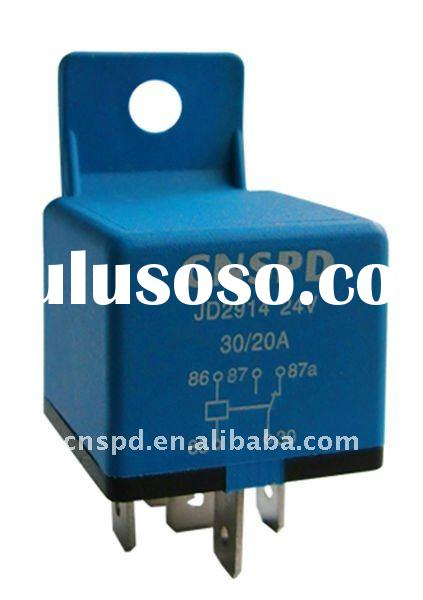 high quality auto relay for universal 24V 5pin SPDT