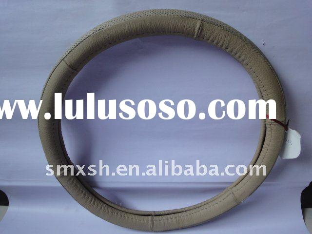 high quality leather steering wheel cover car accessories