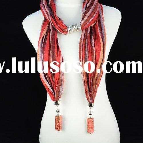 hot sell cloth necklaces ,costume jewelry ,free shipping ,paypal ,nl-1055b