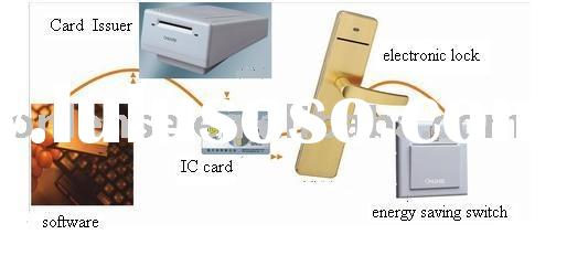 hotel IC card lock system manufacturer in China