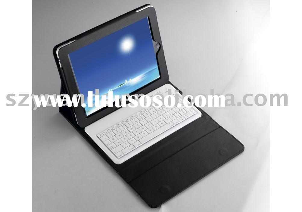 keyboard for ipad&bluetooth device with PU LEATHER CASE