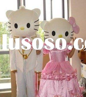 latest hello kitty mascot costumes, hello kitty carnival costumes,cartoon character costumes