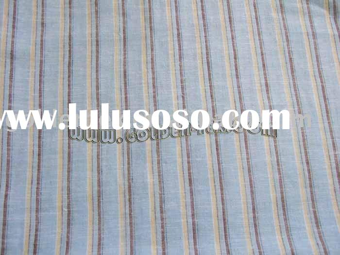 linen cotton yarn dyed fabric(LC2020)