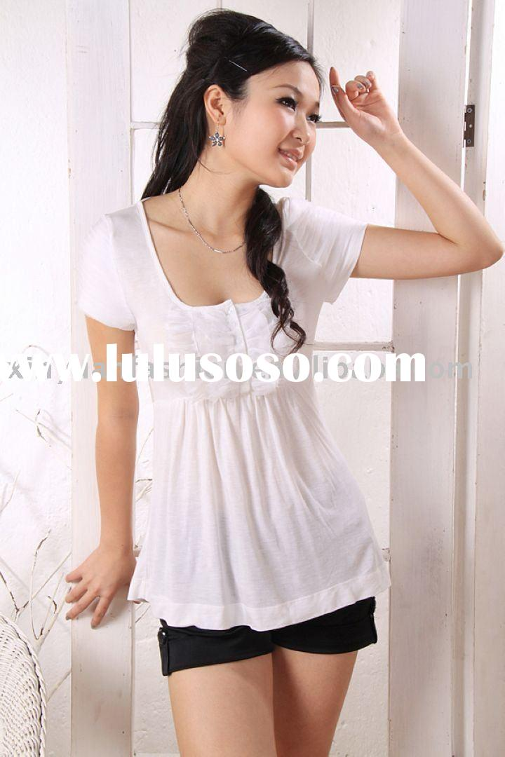 lovely lace tshirts cotton