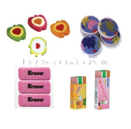 low price promotional eraser with printing