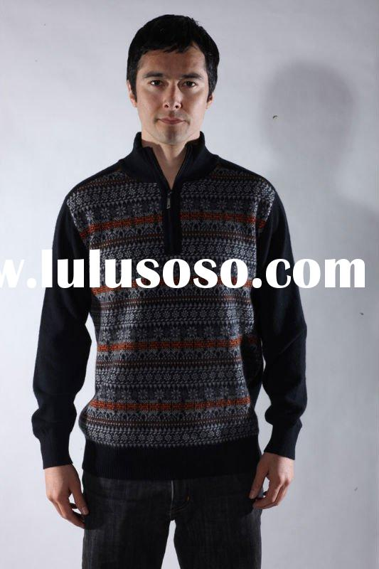 men's knitted sweater,pullover