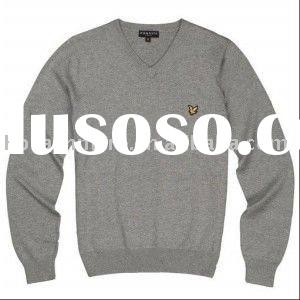 men's pure 100% cashmere/wool winter pullover sweater for men
