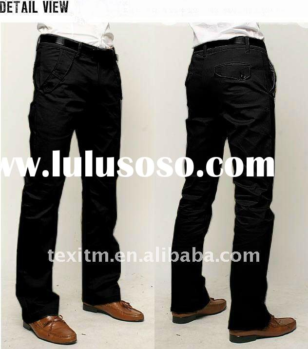 mens fashion cotton trousers