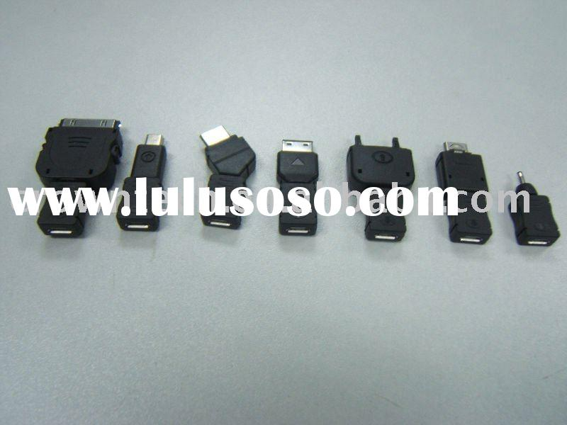 micro USB charger adapter for Noka/Samsung/Blackberry