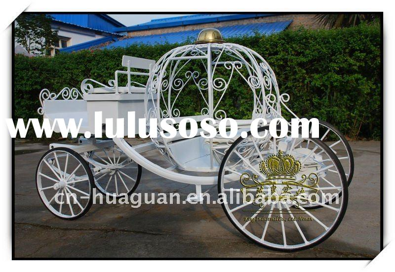 mini cinderella horse carriage for display