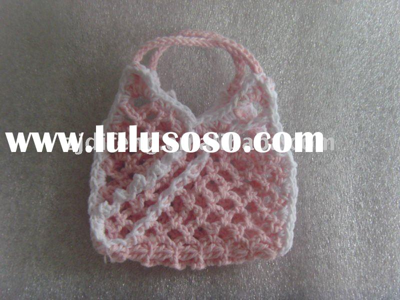 mini crochet bag/wedding and baby shower favors baby shower decorations