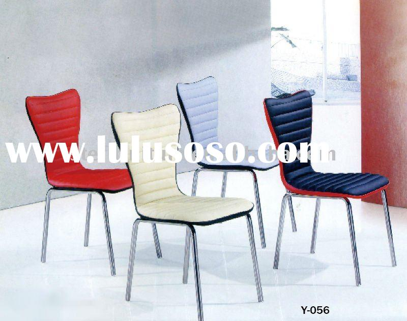modern style comfortable and gorgeous leather dining chair