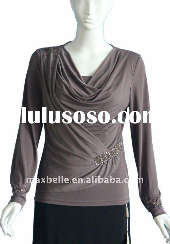 most popular blouses &tops for lady 2012
