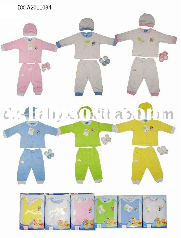 new born baby wear baby gift set