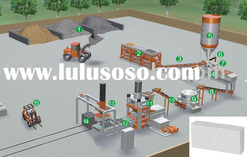 non-cement fly ash bricks making production line