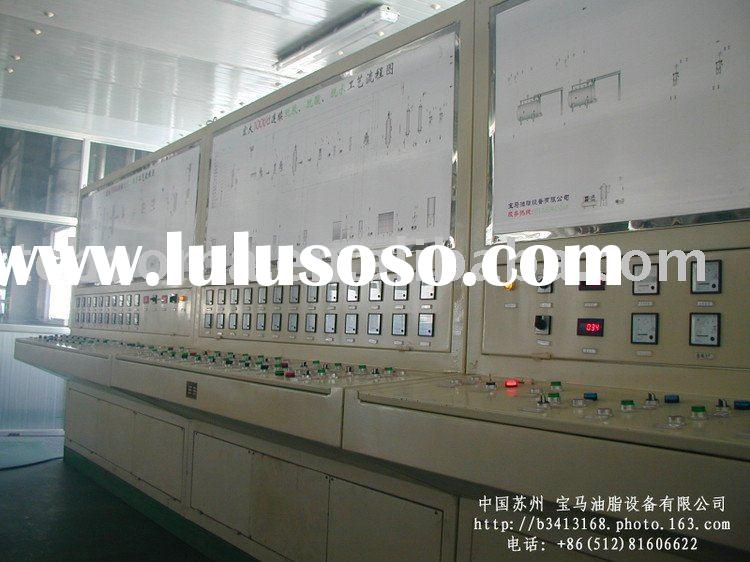 oil and fat refining plant and animal oil refining equipment