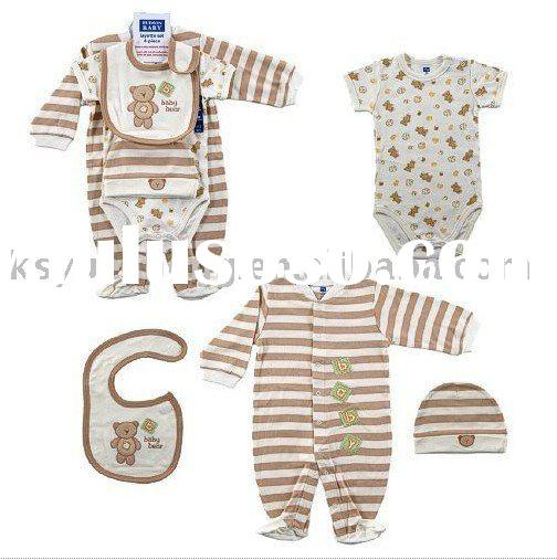 organic cotton baby clothing gift set