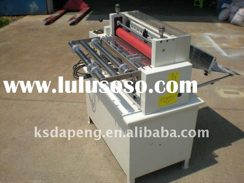 paper cutting machine from roll to sheet