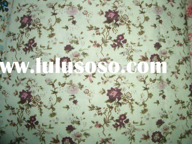 pigment printing cotton fabric for bed sheet