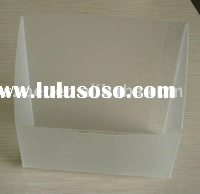 plastic brochure holder make of eco-friendly material , tailor made in any design ,size