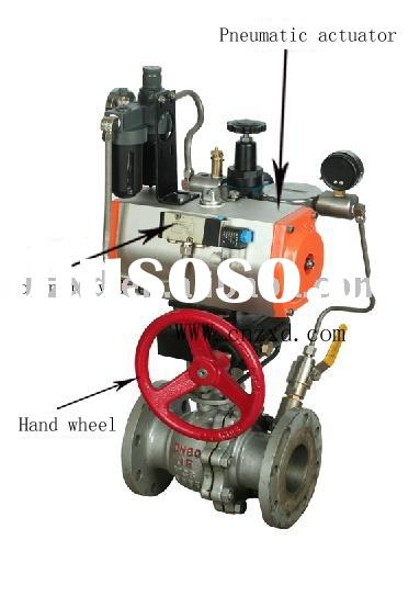 pneumatic -Electric control ball valve fire-extinguishing system
