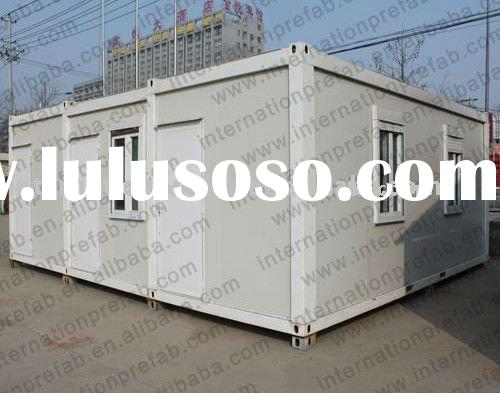 prefabricated living container mobile home