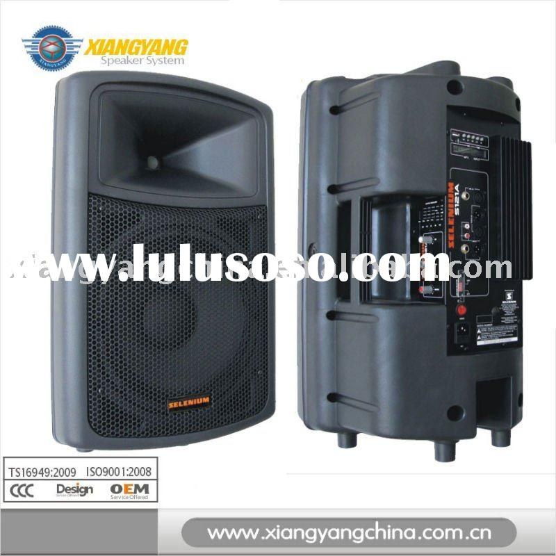 professional audion sound cabinet PA speaker with USB MP3