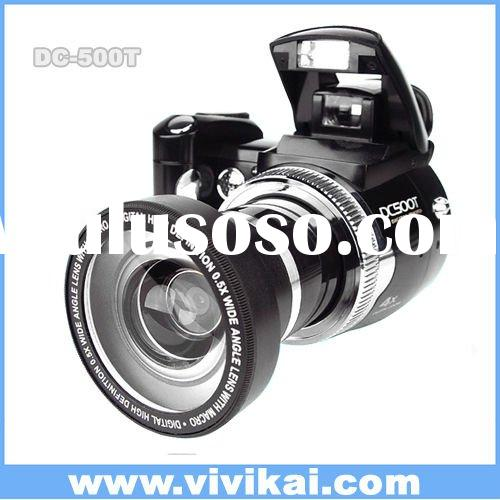"""professional digital camera with 2.4"""" TFT LCD screen"""