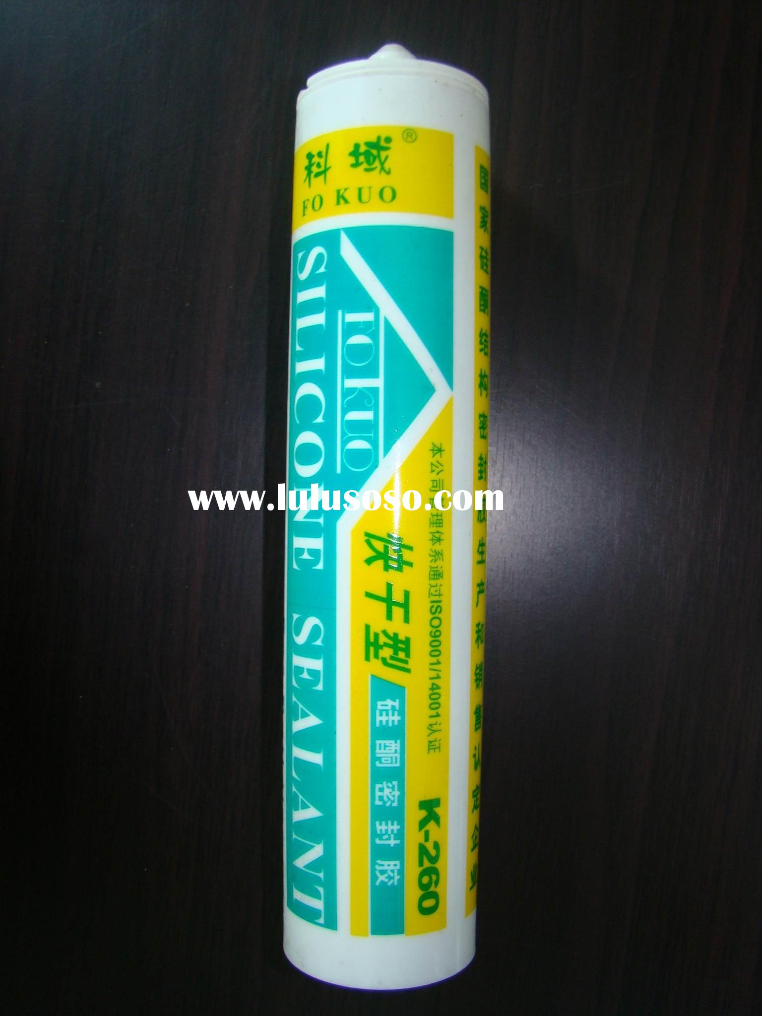 quick-drying silicone sealant