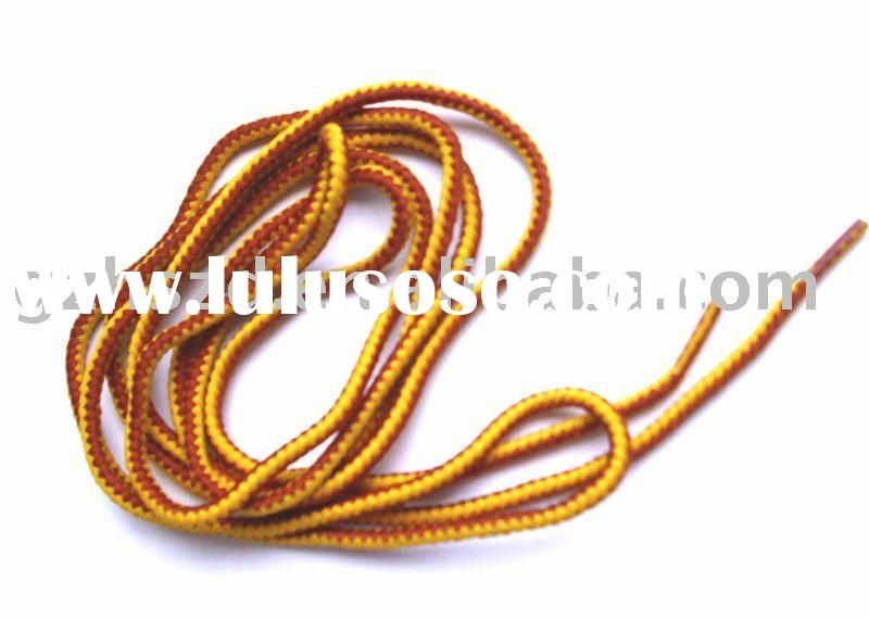 round polyester leather shoe lace
