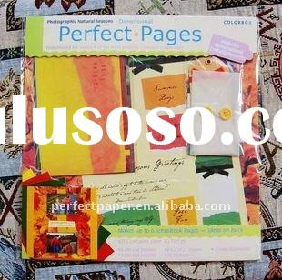 scrapbooking kit for making card and diy items